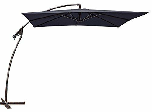 Marie Patio 8' Square Cantilever Umbrella Fabric Color: Beige