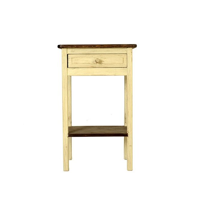 Olive 1 Drawer Nightstand