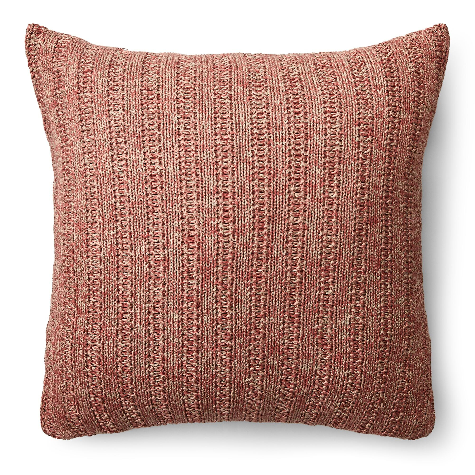 Graydon Cotton Throw Pillow Color: Red