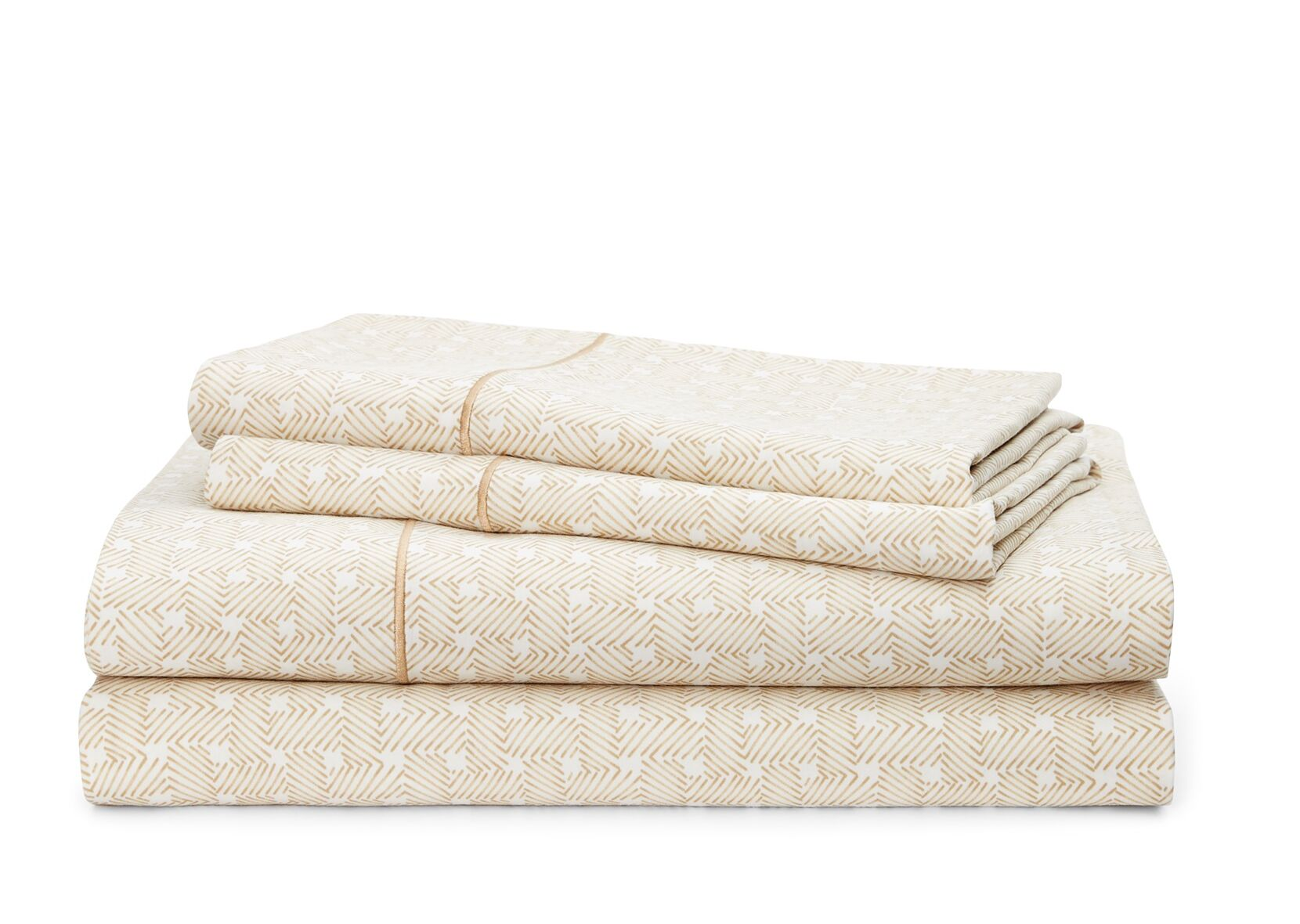 Spencer Basketweave 212 Thread Count 100% Cotton Sheet Set Color: Wheat, Size: Queen