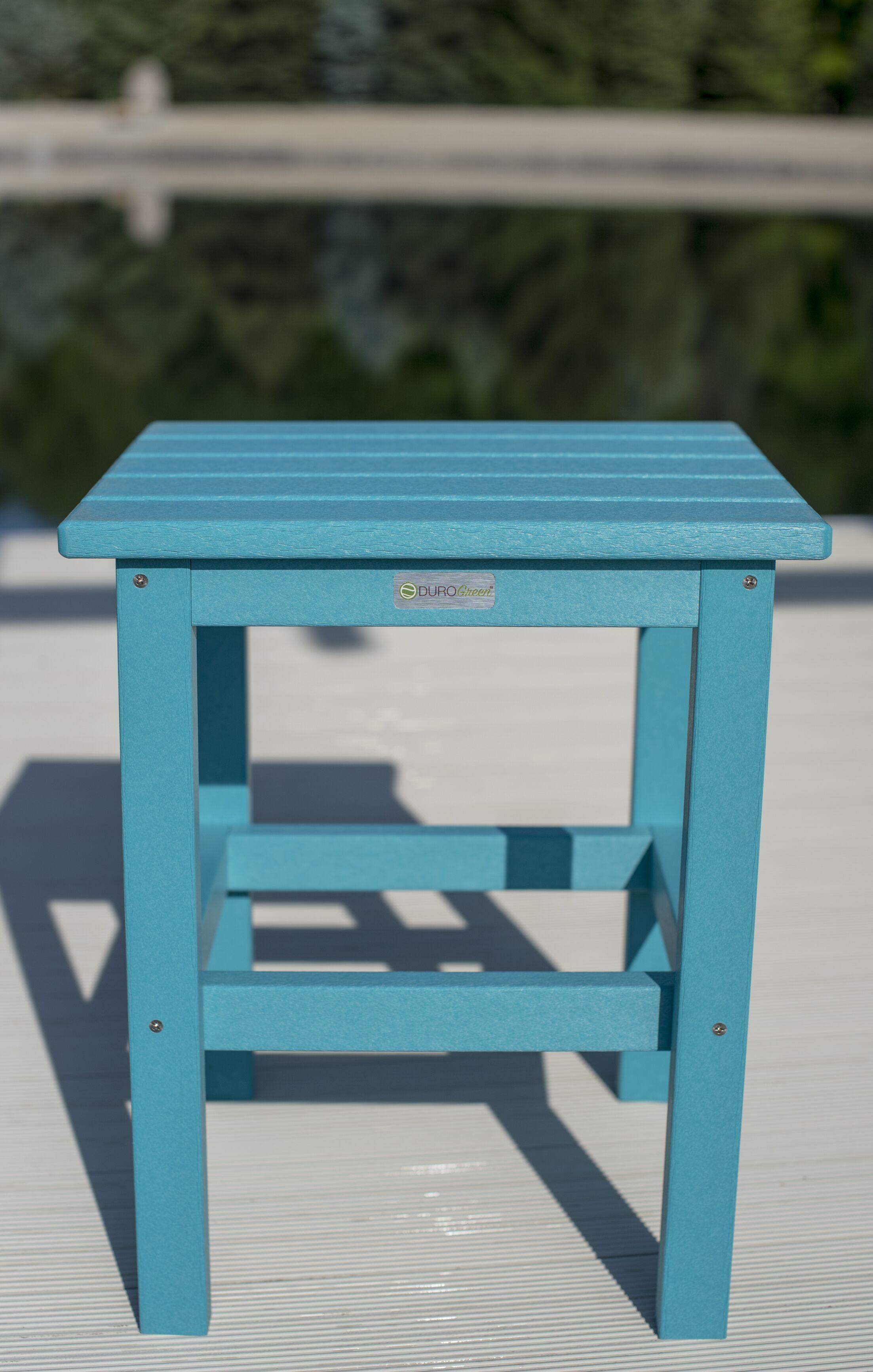 Parkside Square Side Table Color: Aruba