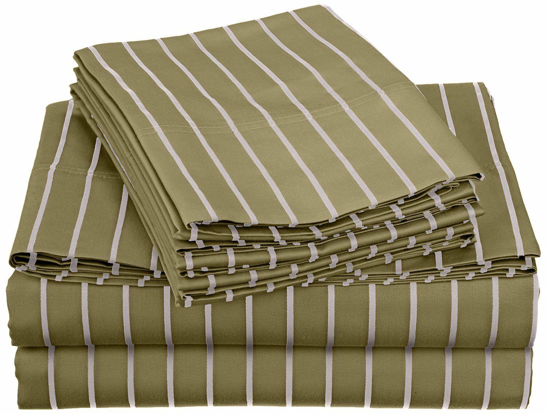 Bahama 600 Thread Count Sheet Set Size: California King, Color: Sage