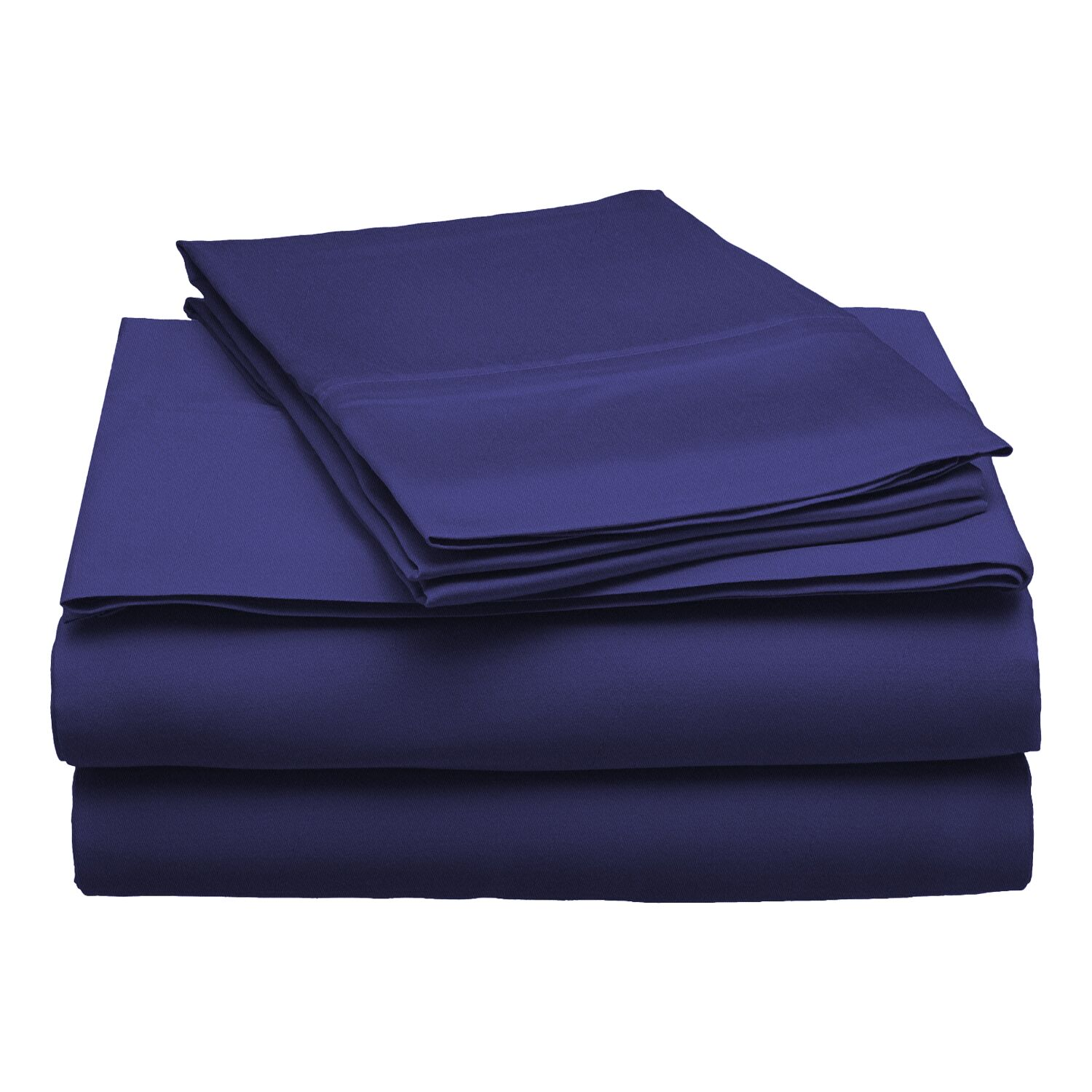 300 Thread Count Modal Solid Sheet Set Color: Navy Blue, Size: California King
