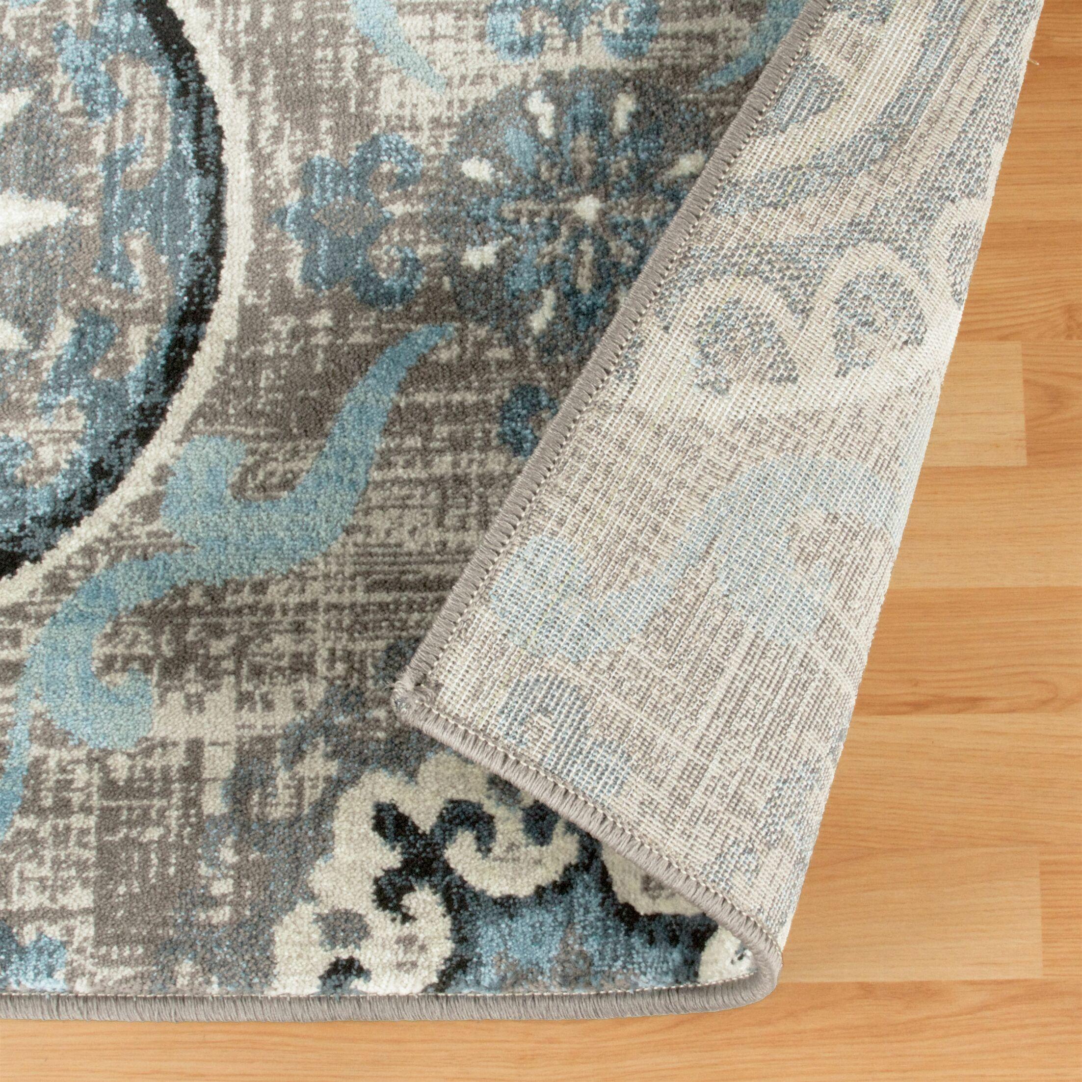 Raya Taupe Area Rug Rug Size: Rectangle 2' x 3'