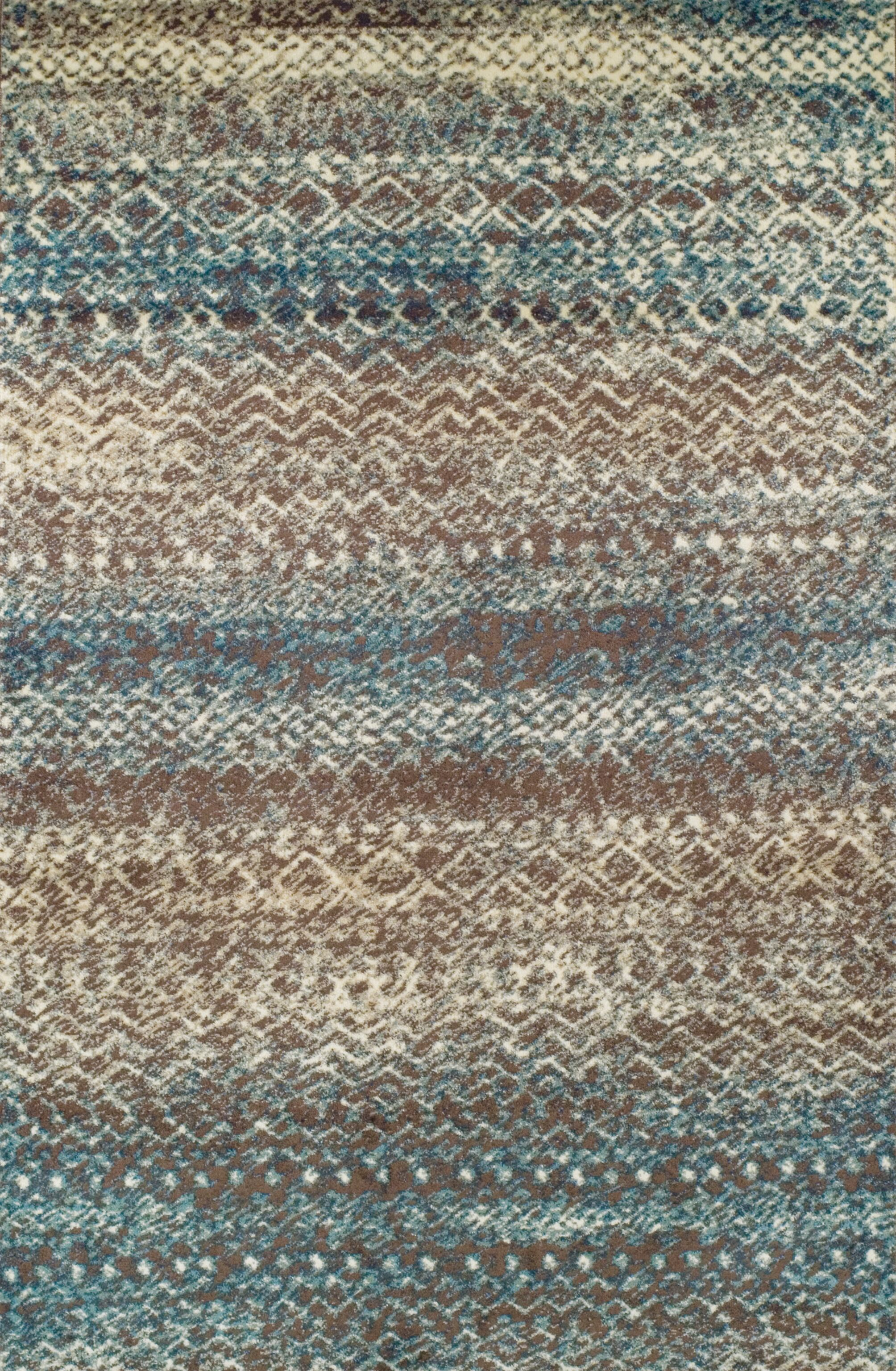 Hopkins Taupe/Ivory Area Rug Rug Size: Rectangle 5' x 8'