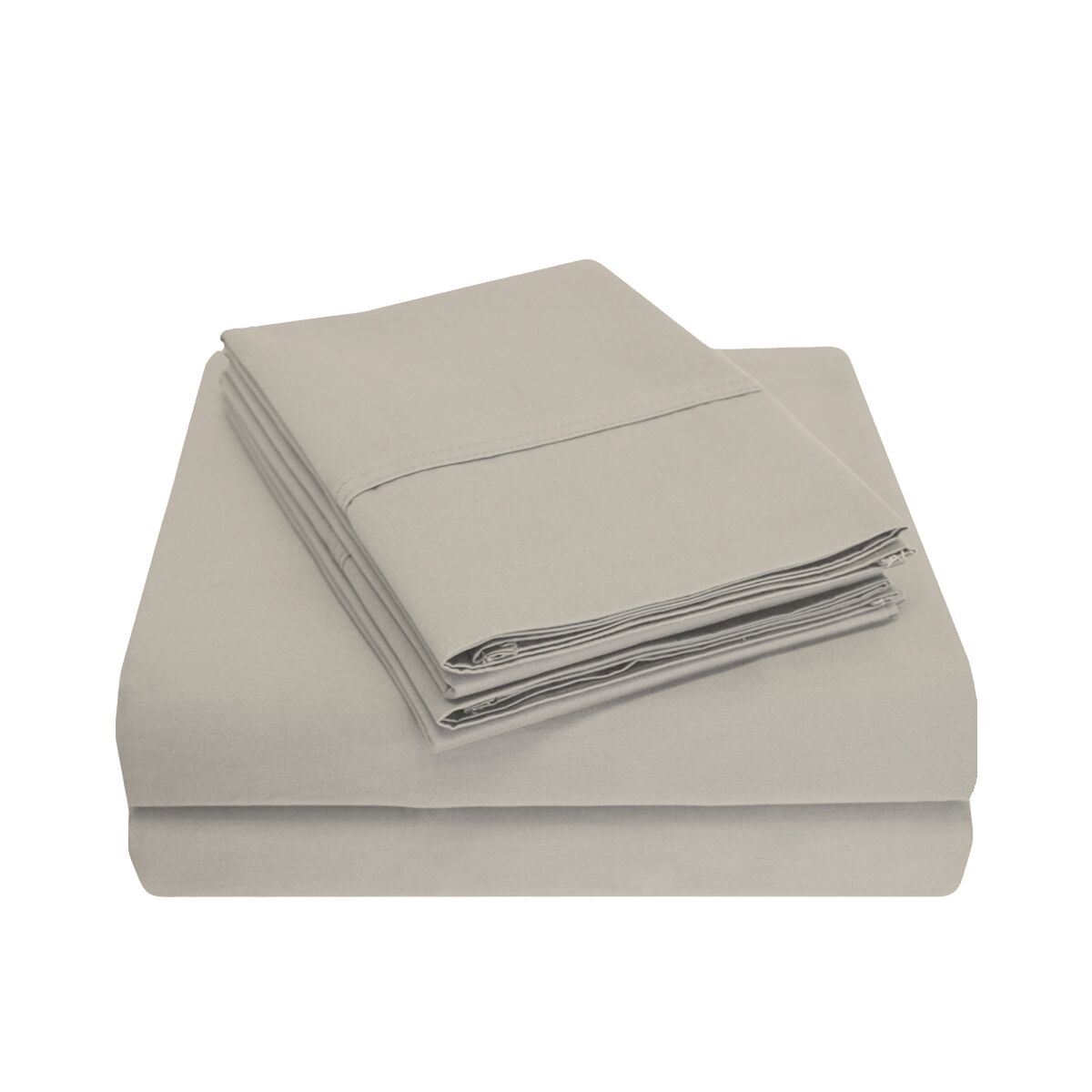 Cullen 800 Thread Count 100% Cotton Sheet Set Size: King, Color: Stone