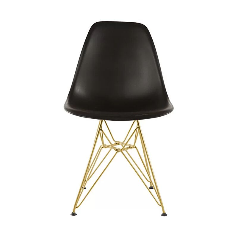 Keiko Dining Chair Color: Black