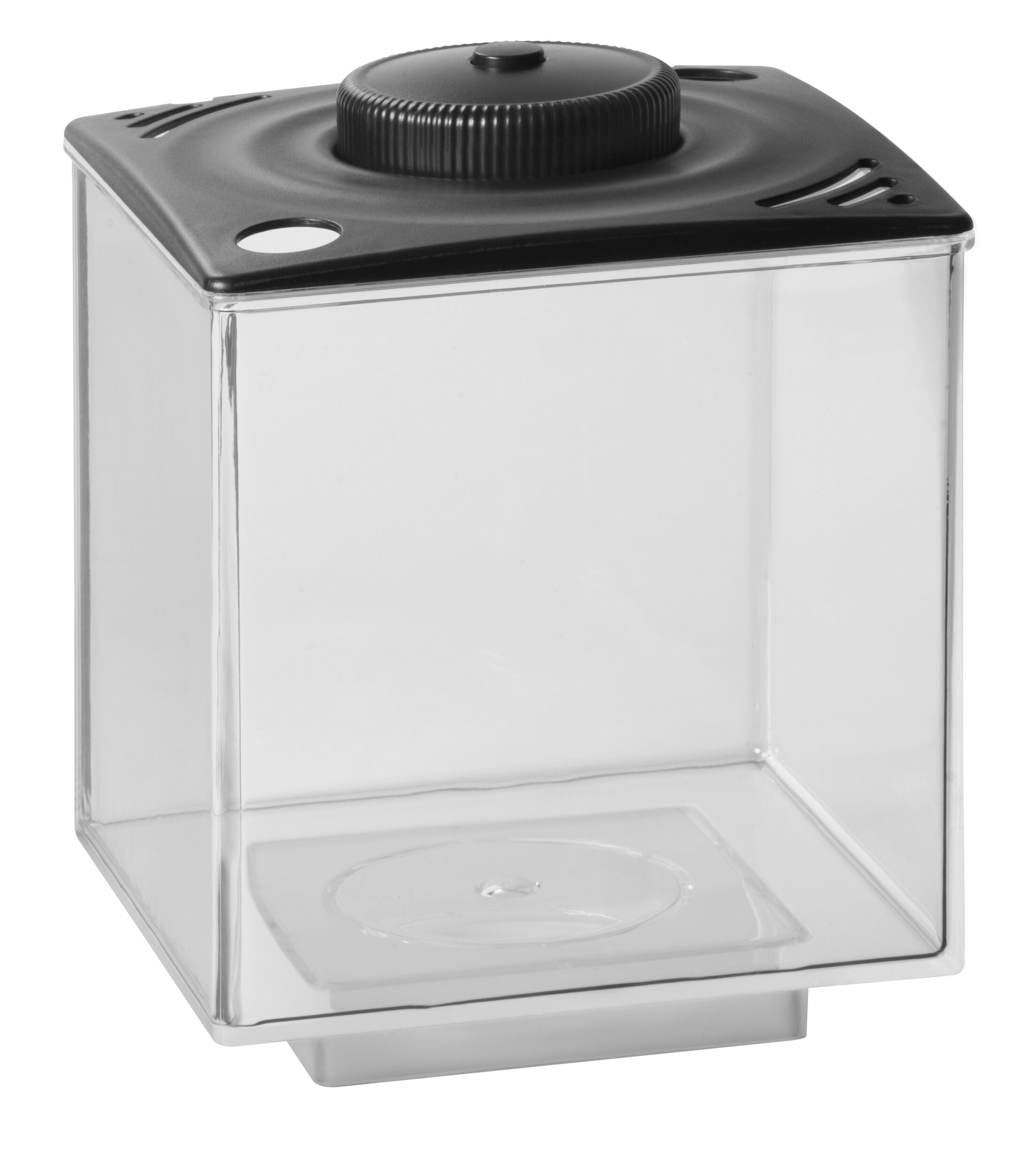 Nason 0.75 Gallon Betta Cube LED Aquarium Tank Color: Black