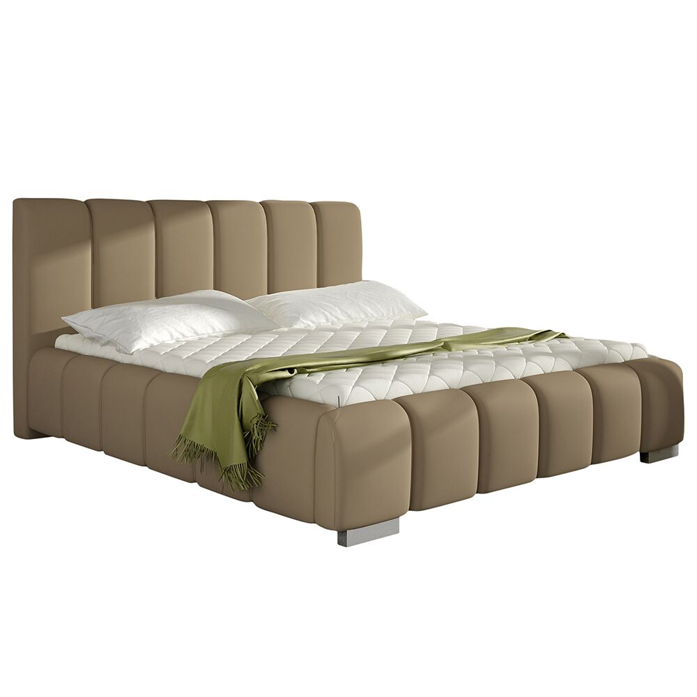 Soma Upholstered Platform Bed with Mattress Size: Queen
