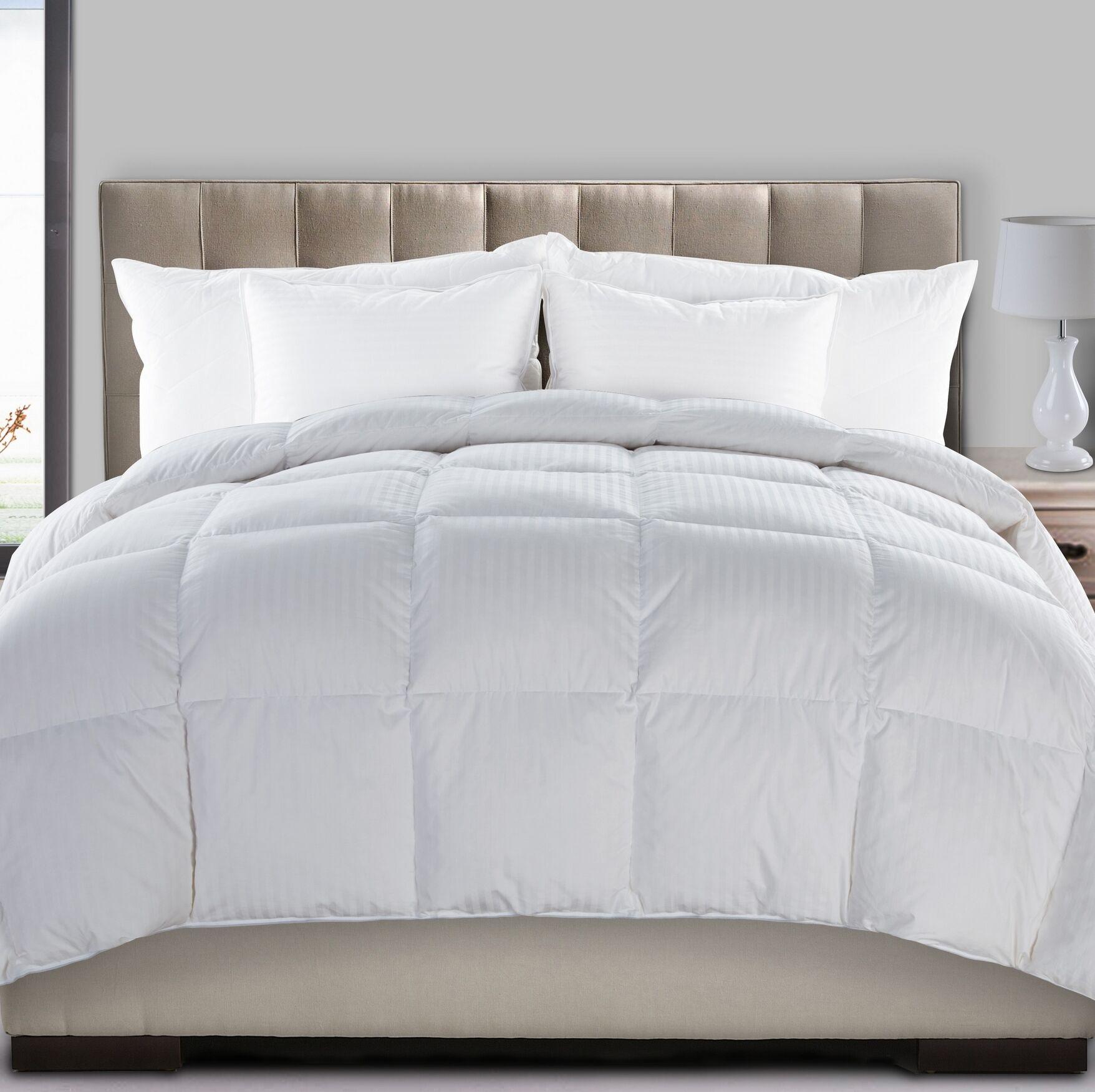 Ultra Extra Heavyweight Down Comforter Size: Queen