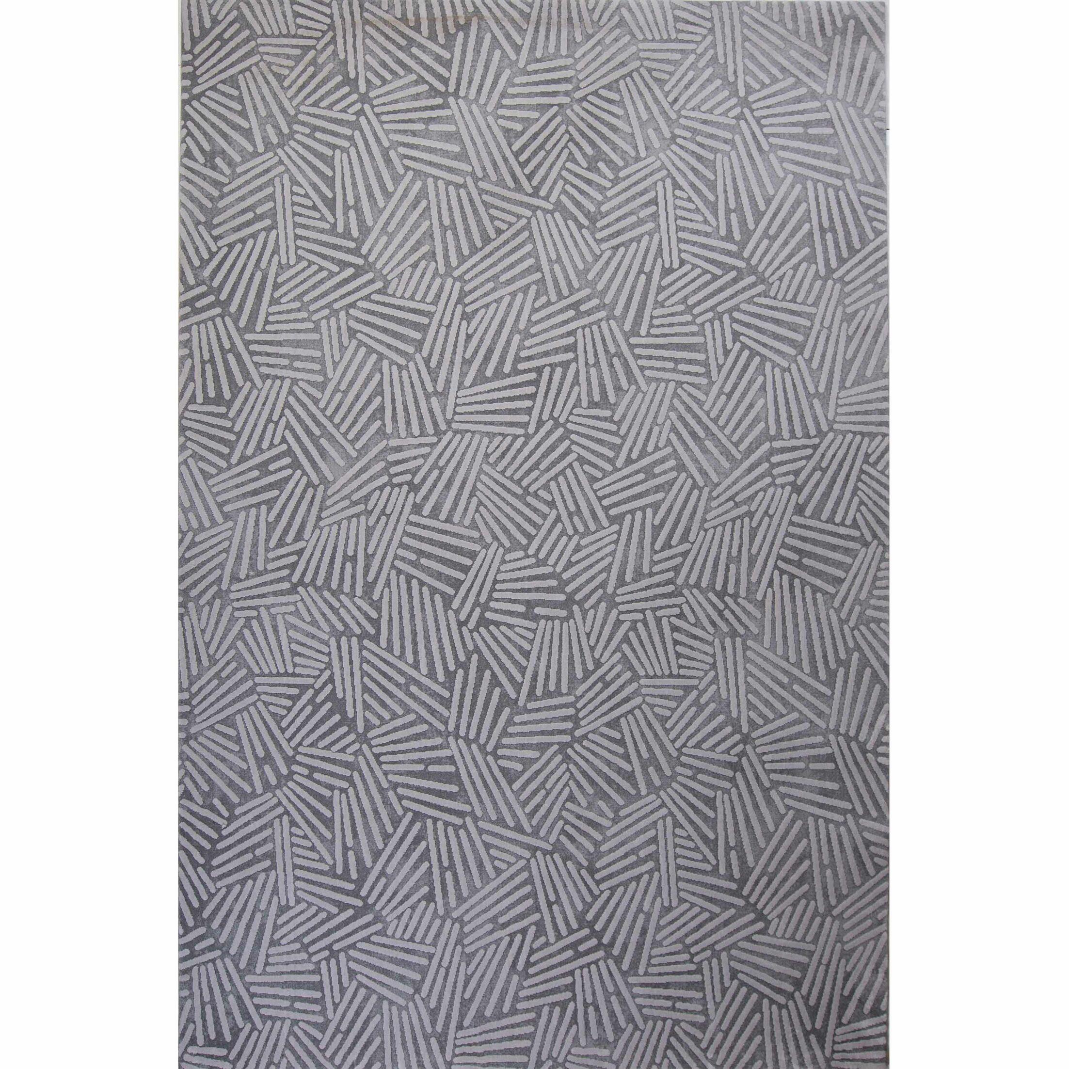 Vytla Gray Area Rug Rug Size: 5'2