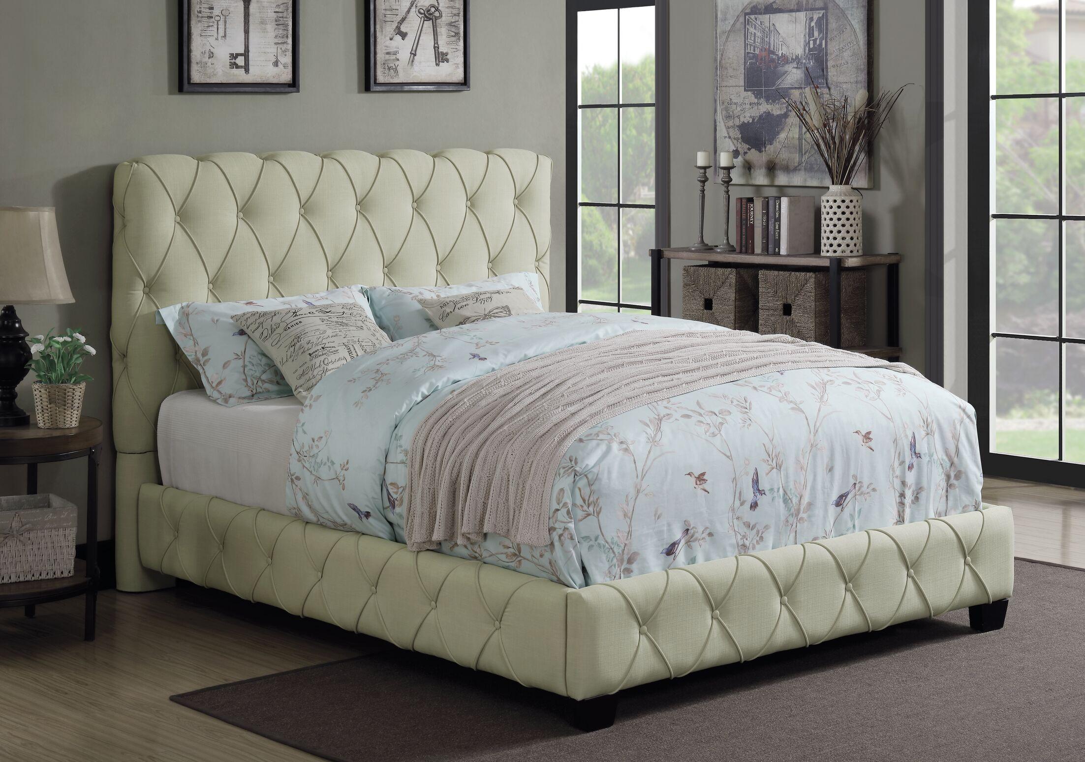 Nyla Upholstered Panel Bed