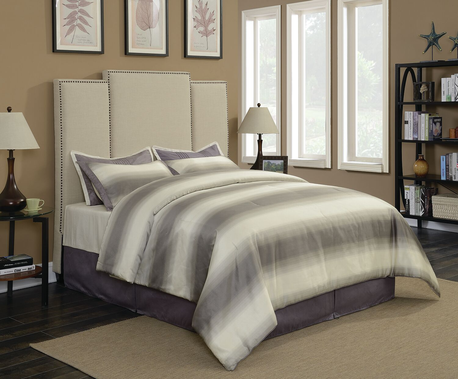 Belair Upholstered Panel Bed