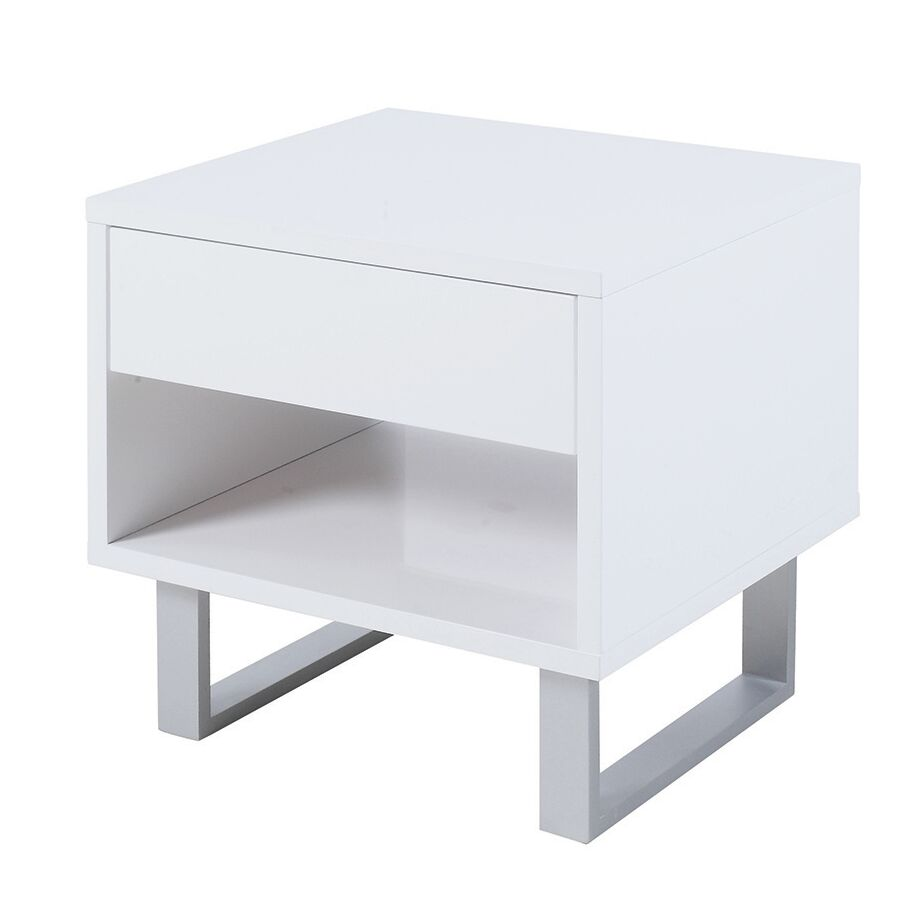 Sylwia End Table with Storage