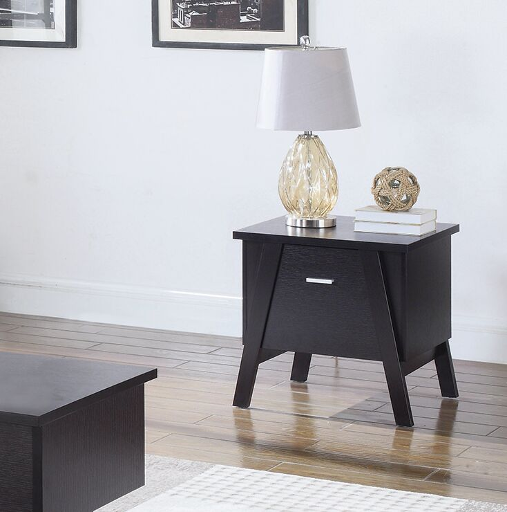 Ziebarth End Table with Storage