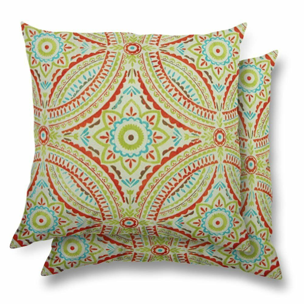 Kady Eco-Friendly Indoor/Outdoor Throw Pillow