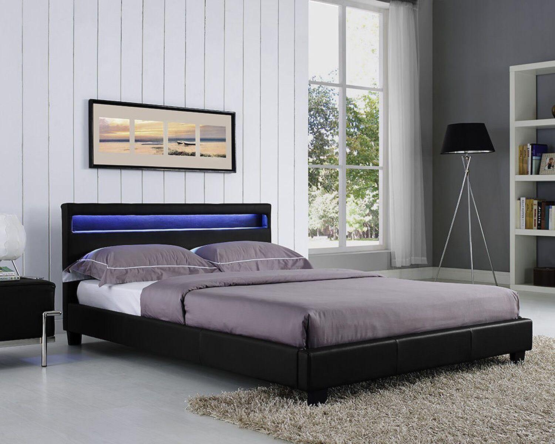 Knopf Upholstered Platform Bed Color: Black, Size: King
