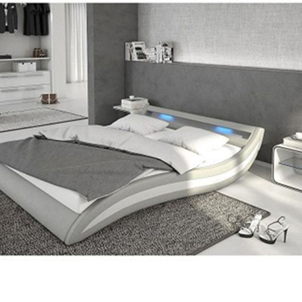 Knipe Upholstered Platform Bed Size: King, Color: Light Gray