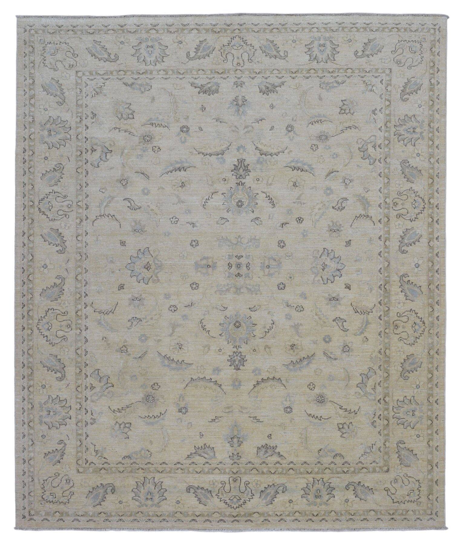 One-of-a-Kind Ardith Hand Woven Beige Area Rug