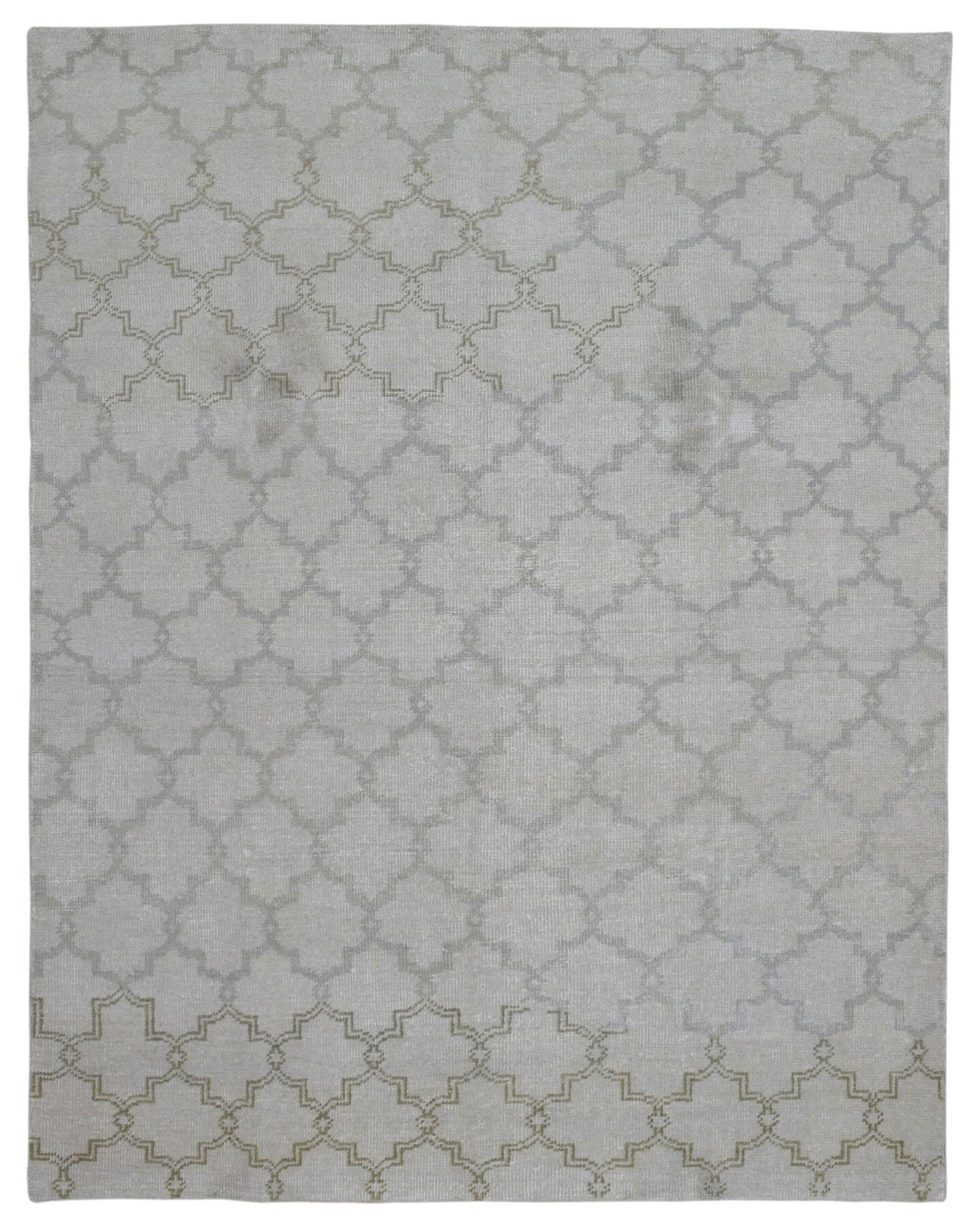 One-of-a-Kind Jools Hand Woven Gray Area Rug