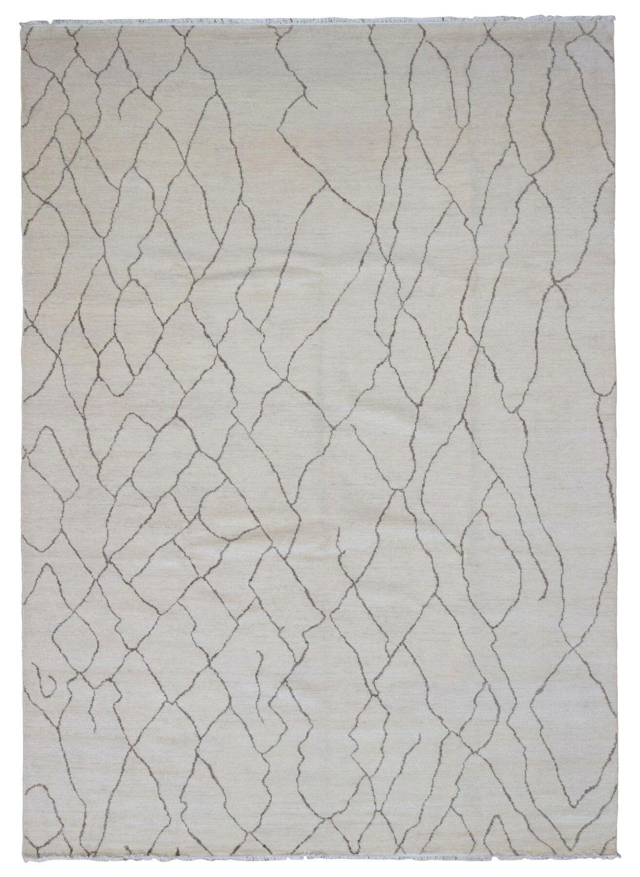 One-of-a-Kind Aisha Hand-Woven Wool Gray Area Rug
