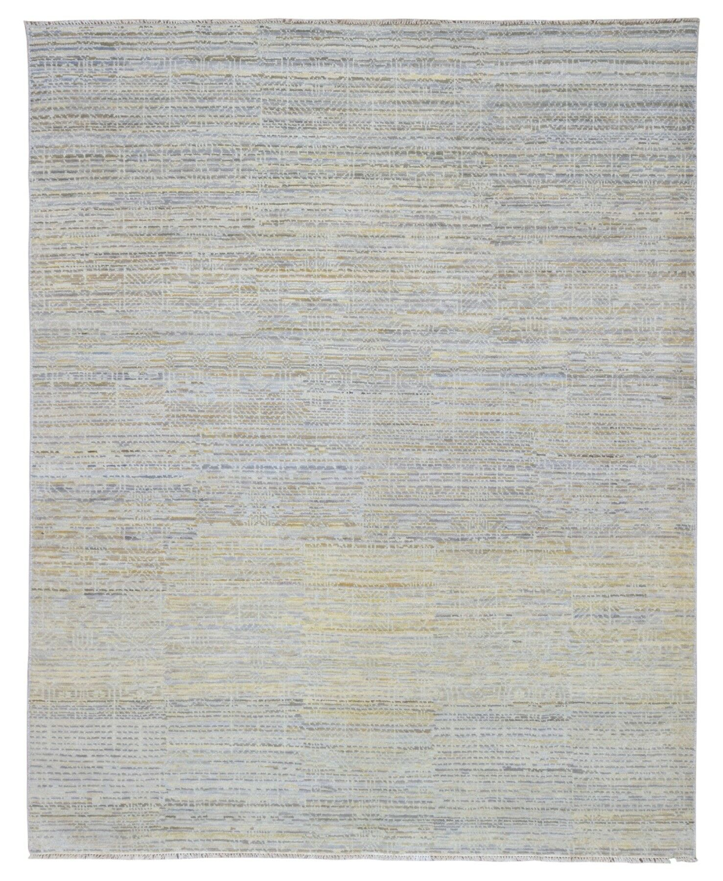 One-of-a-Kind Shumaker Hand-Woven Wool Gray Area Rug