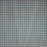 Blue Sky and White Gingham Checks Bed Skirt / Dust Ruffle Size: Full