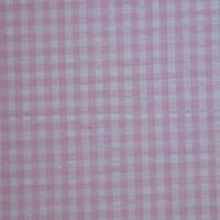 Gingham Checks Bed Skirt / Dust Ruffle Size: King