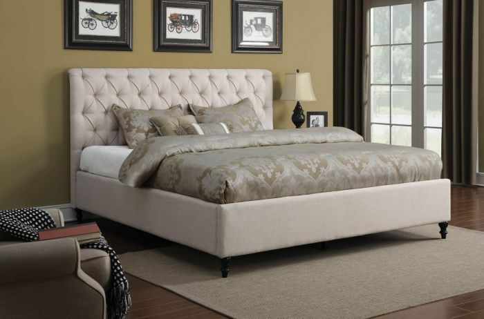 Humphrey Panel Bed Size: King