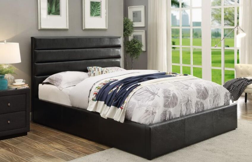 Wiseman Upholstered Storage Platform Bed Size: California