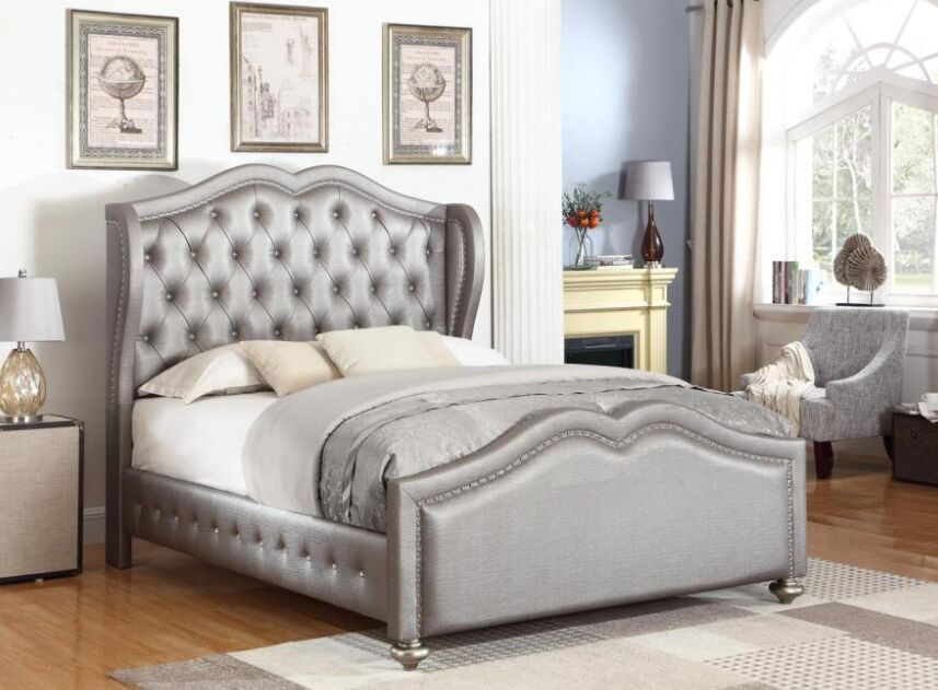 Curtis Upholstered Panel Bed Size: Queen