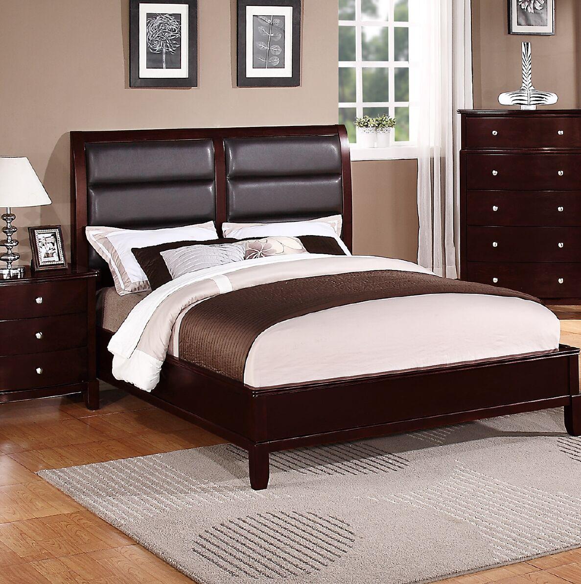 Terwilliger Upholstered Panel Bed Size: California King