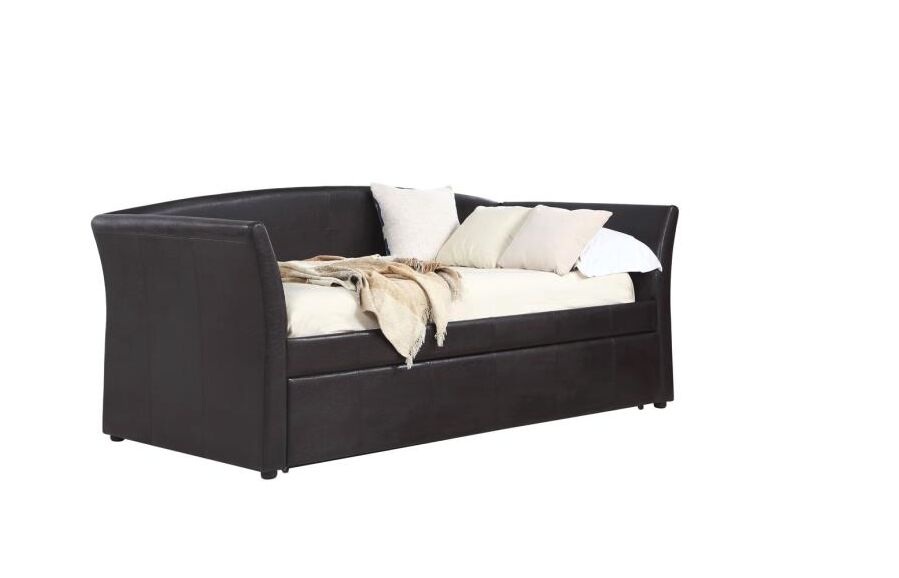 Drage Daybed with Trundle Color: Dark Brown