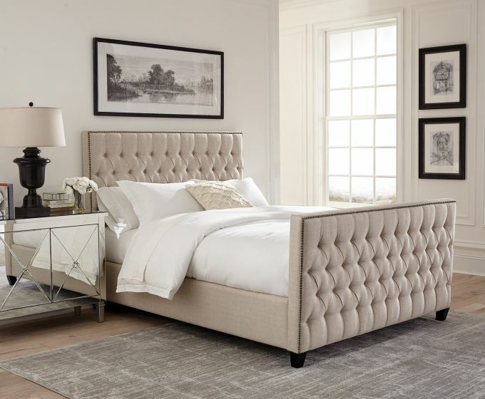 Samella Upholstered Panel Bed Size: Califonia King