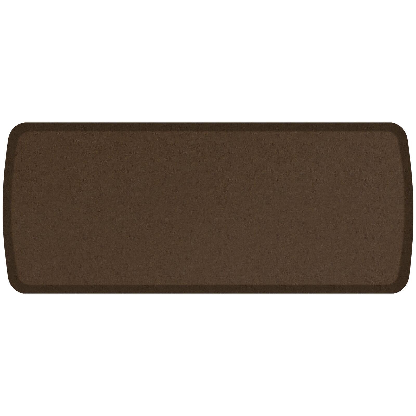 Vintage Leather Elite Premier Comfort Kitchen Mat Mat Size: 1'8