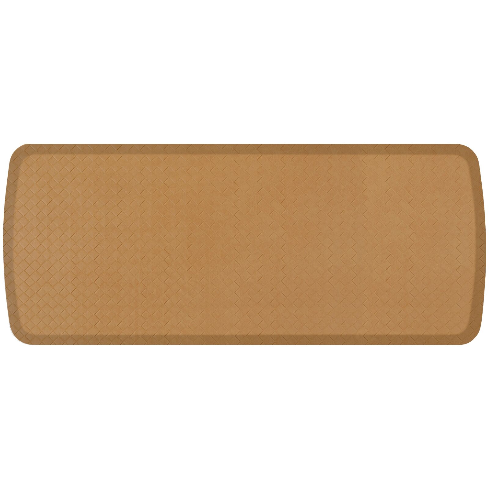 Basketweave Elite Premier Comfort Kitchen Mat Mat Size: 1'8