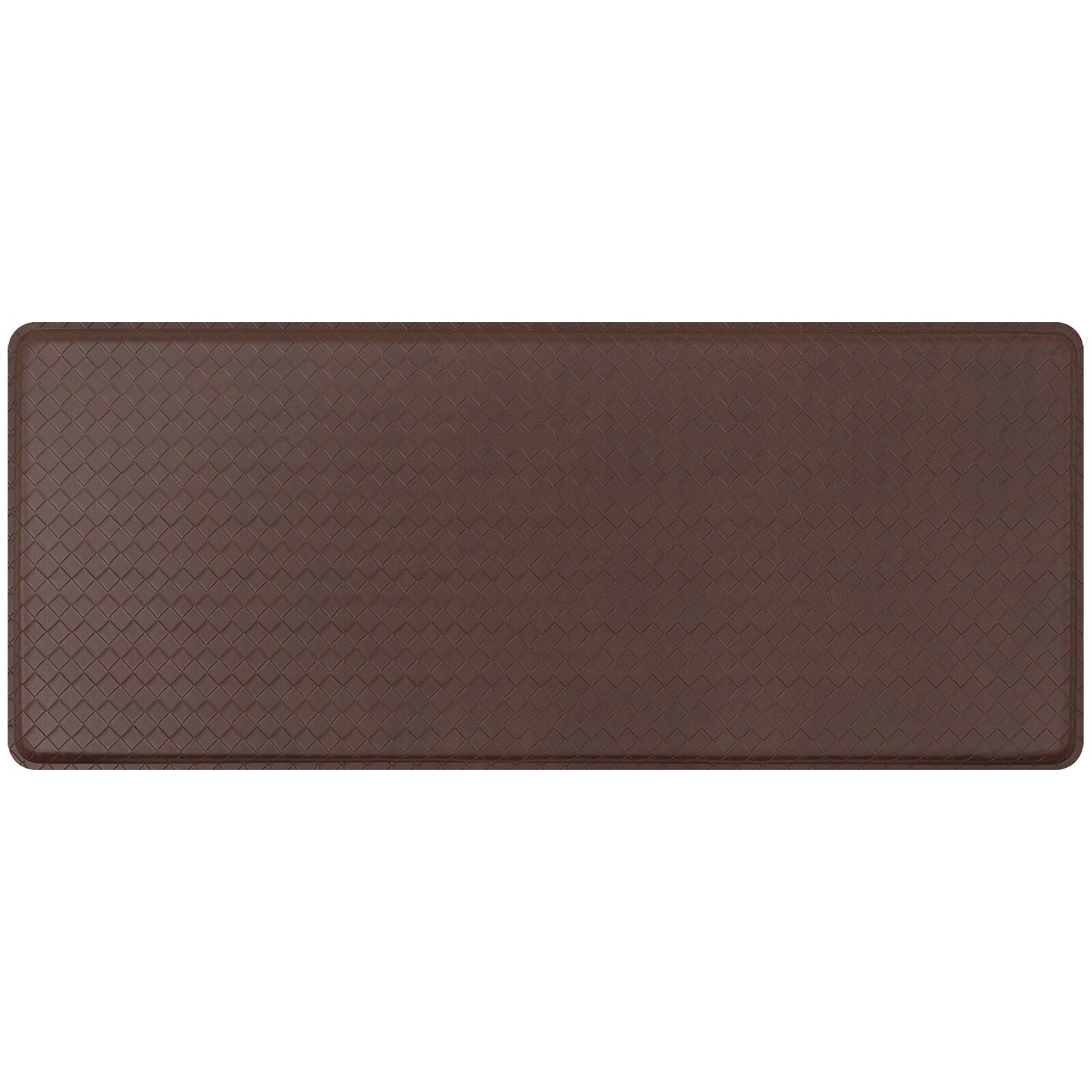 Basketweave Classic Anti-Fatigue Comfort Kitchen Mat Mat Size: 1'8