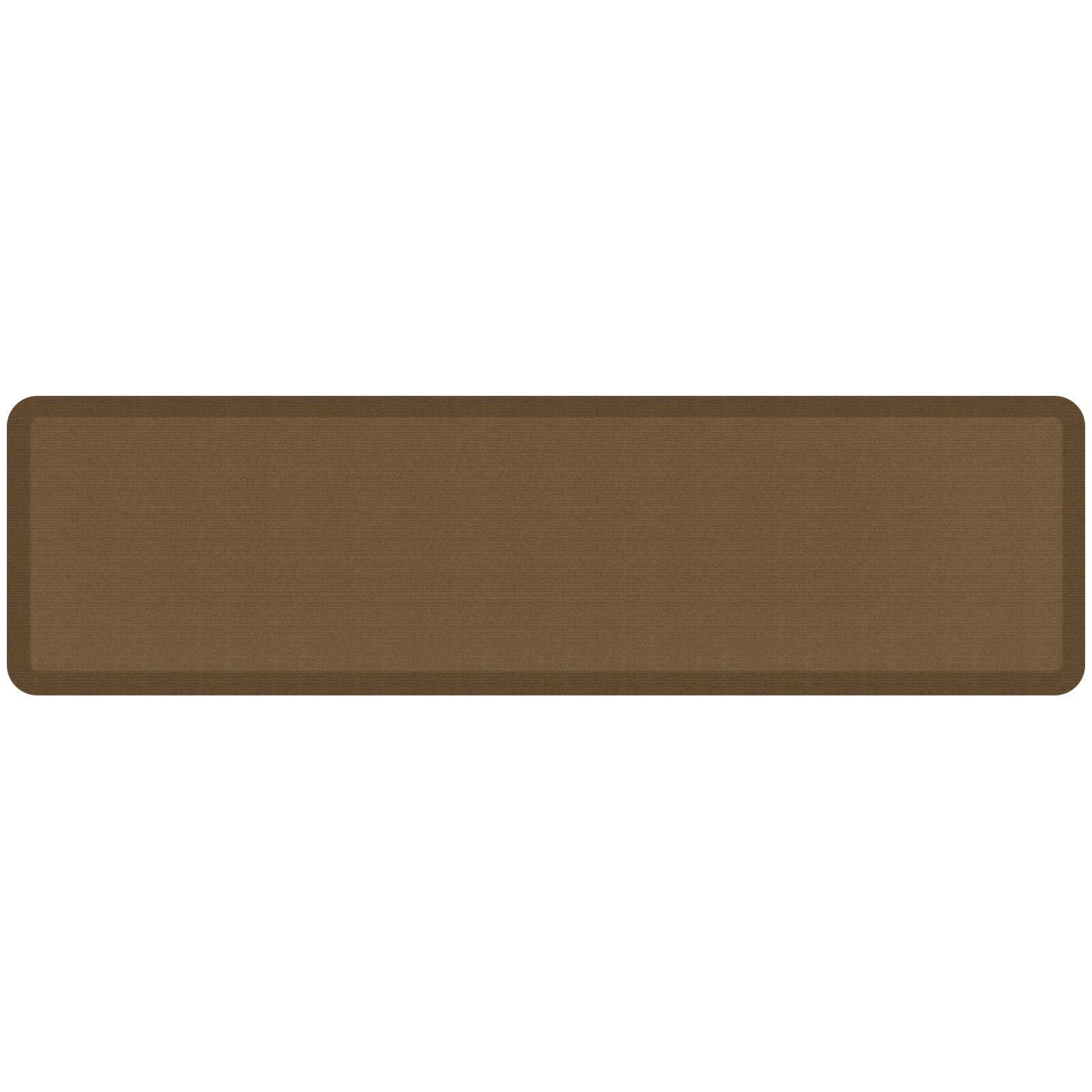 Grasscloth Designer Comfort Kitchen Mat Mat Size: 1'8