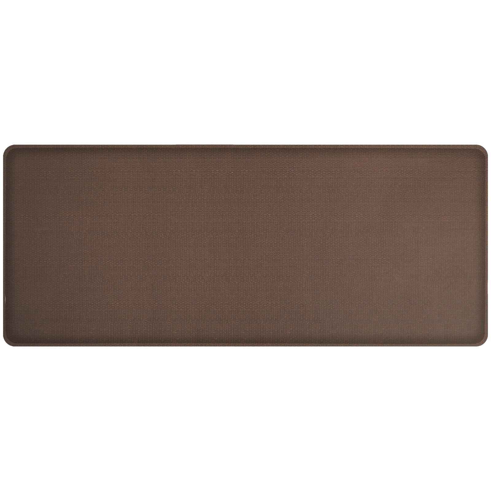 Rattan Classic Anti-Fatigue Comfort Kitchen Mat Mat Size: 1'8