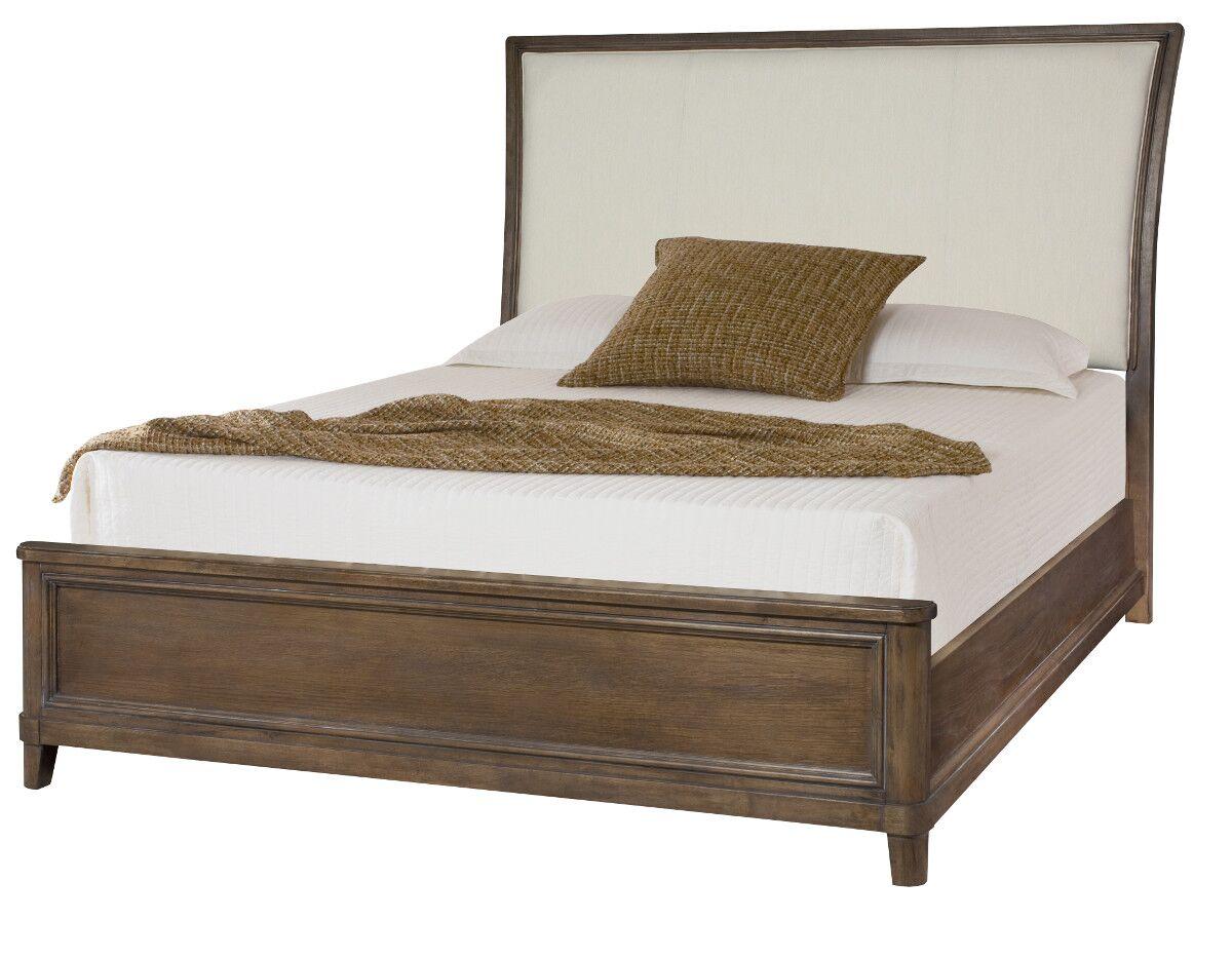 Baford Upholstered Sleigh Headboard Size: King
