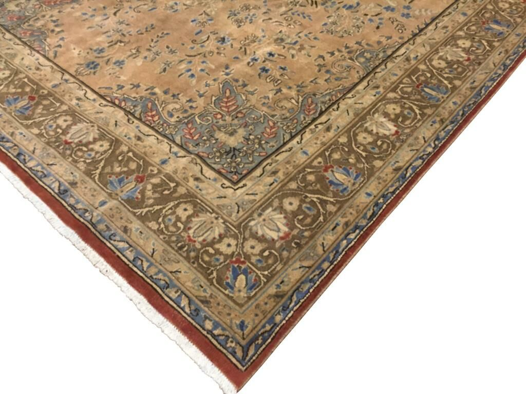Barkhampstead Hand-Knotted Wool Tan Area Rug