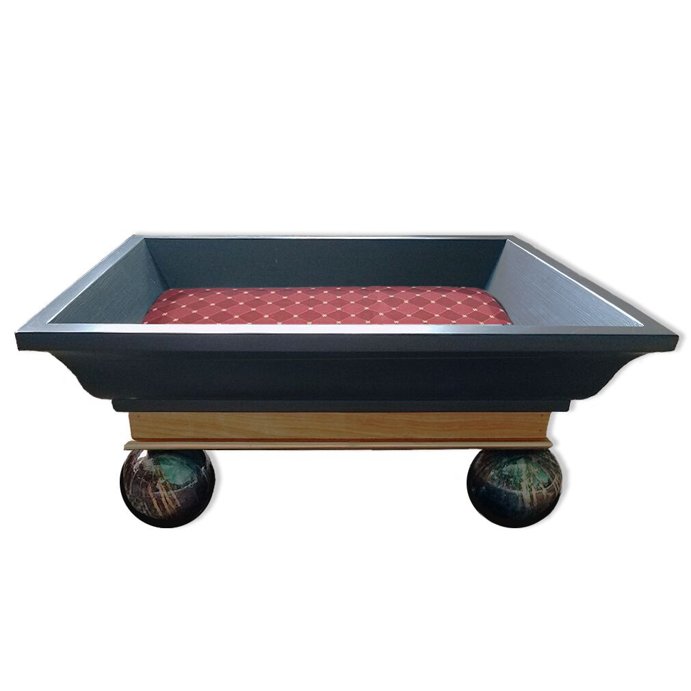 Latrell Royal Carriage Bed Color: Weston Merlot