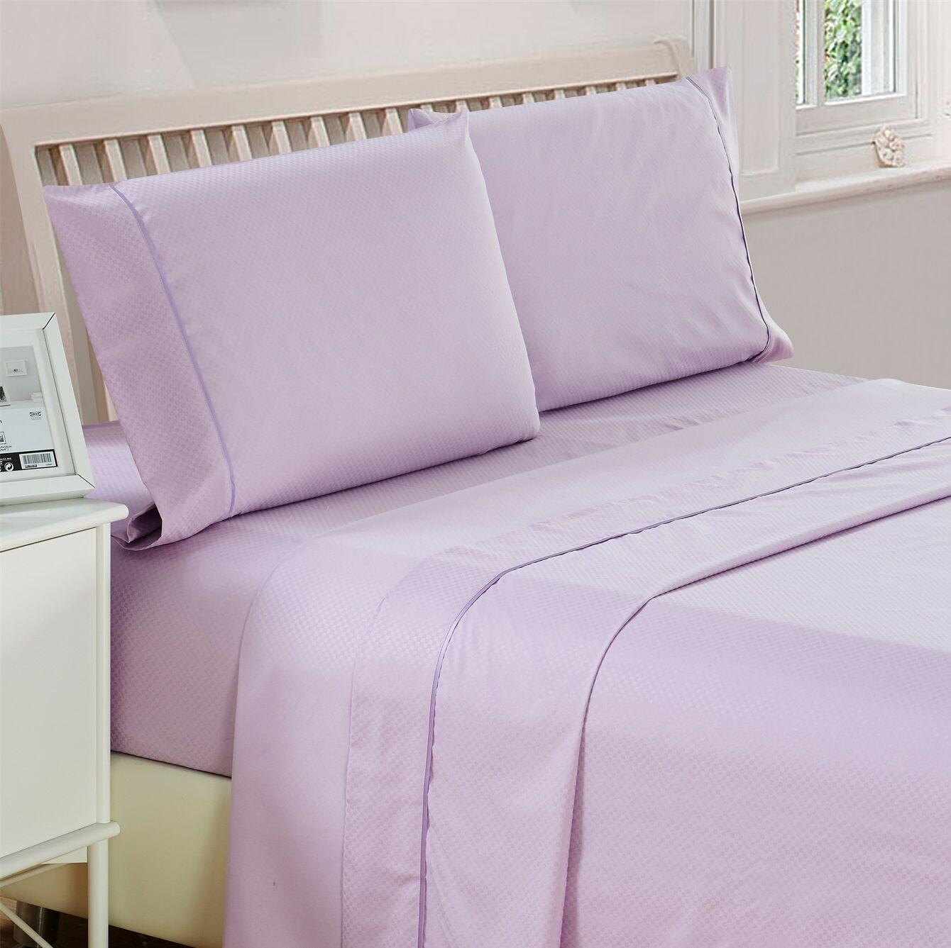 Raub Microfiber Blend Sheet Set Size: King, Color: Lavender