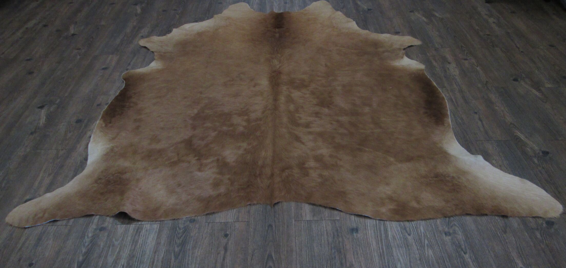 Lynnfield Hand Woven Cowhide Brown Area Rug