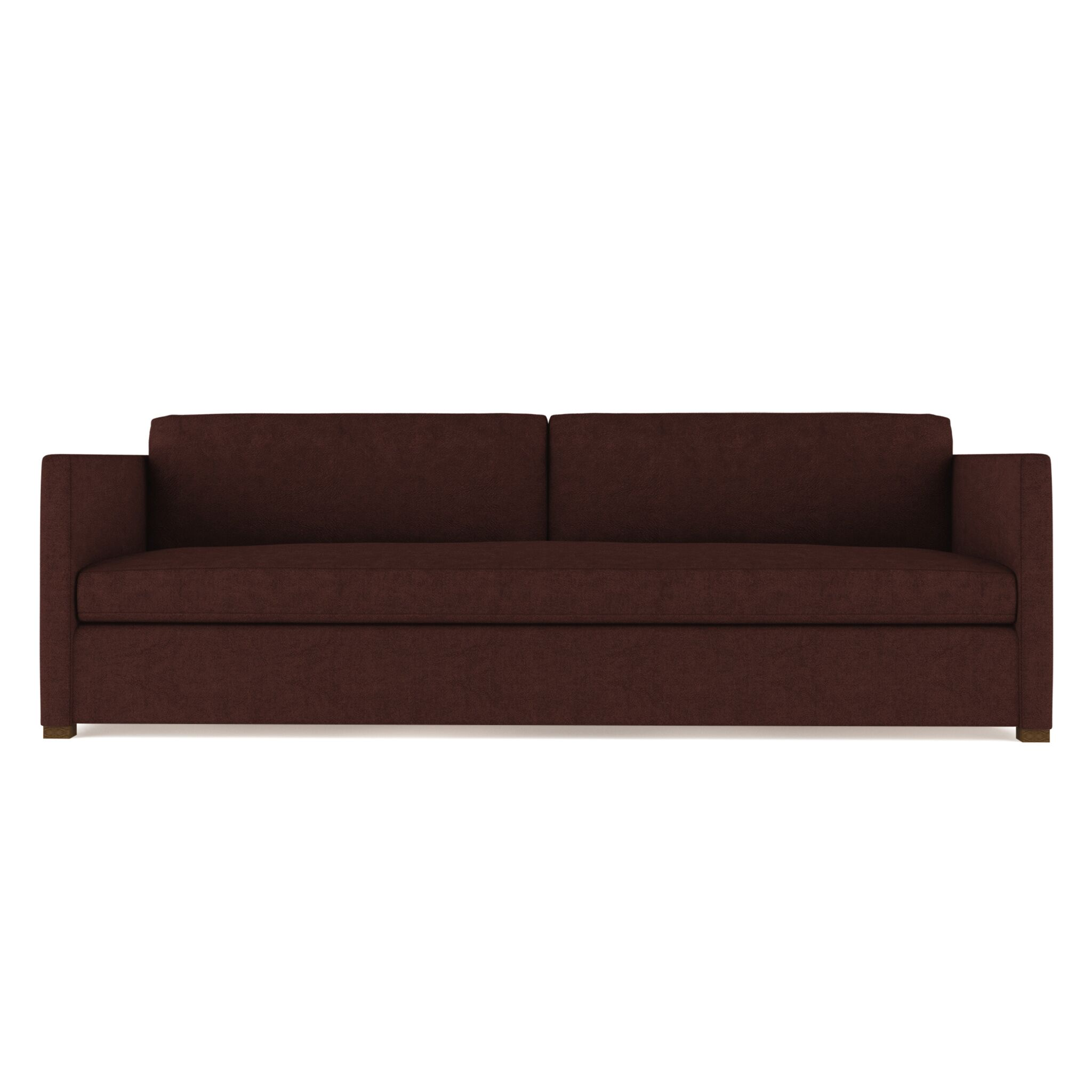 Leedom Leather Sofa Upholstery: Bear Creek, Size: 33