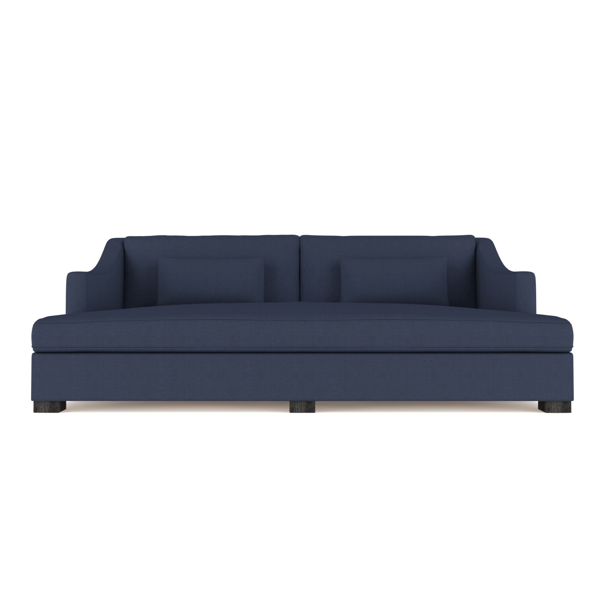 Letterly Linen Daybed Color: Blue