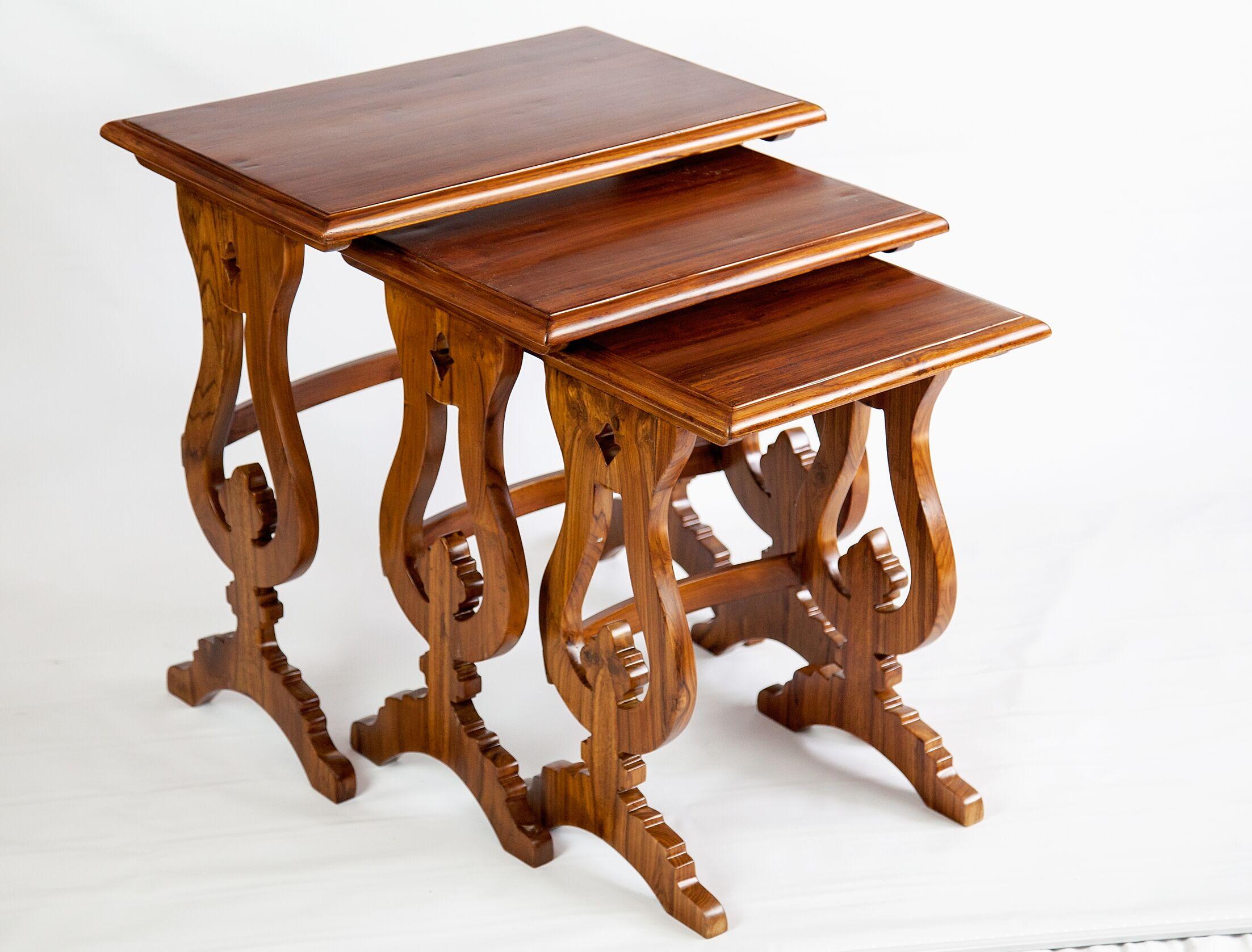 Triptych 3 Piece Coffee Table Set