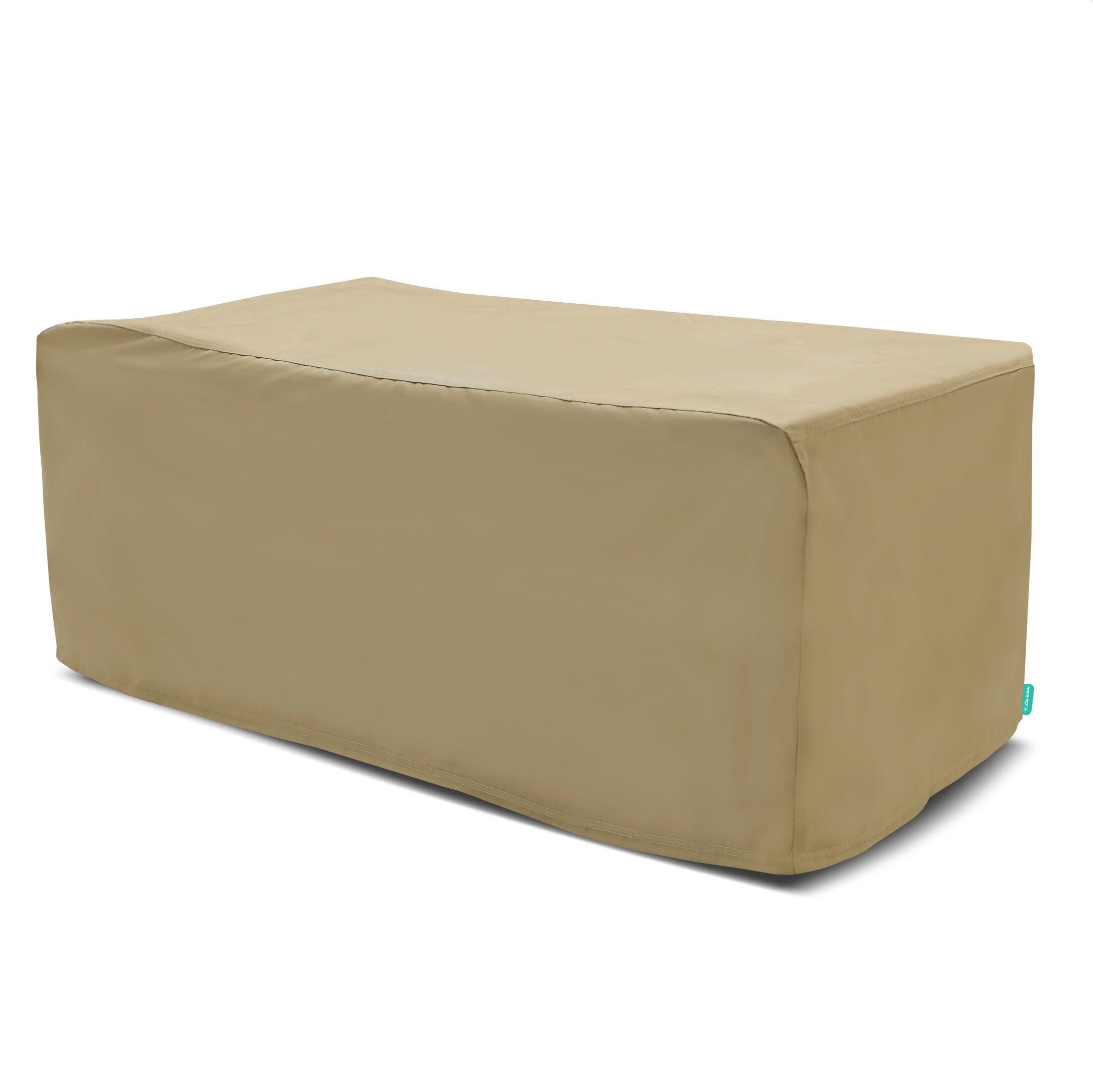 Outdoor Square Patio Table Cover Color: Presidium Tan, Size: 30