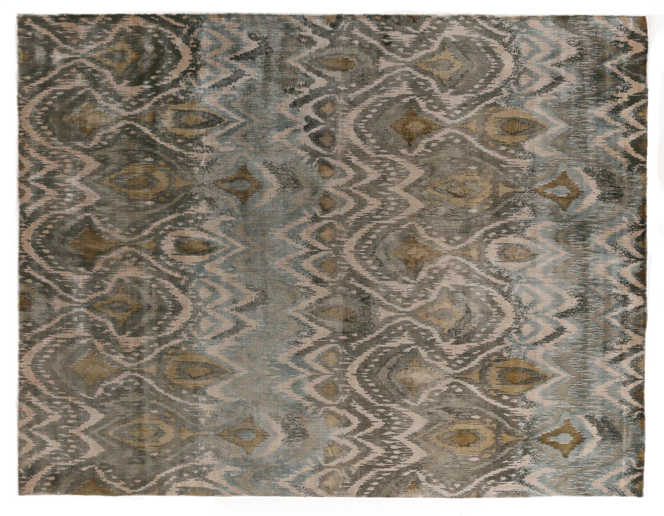 Koda Hand-Woven Gray Area Rug Rug Size: Rectangle 9' x 12'