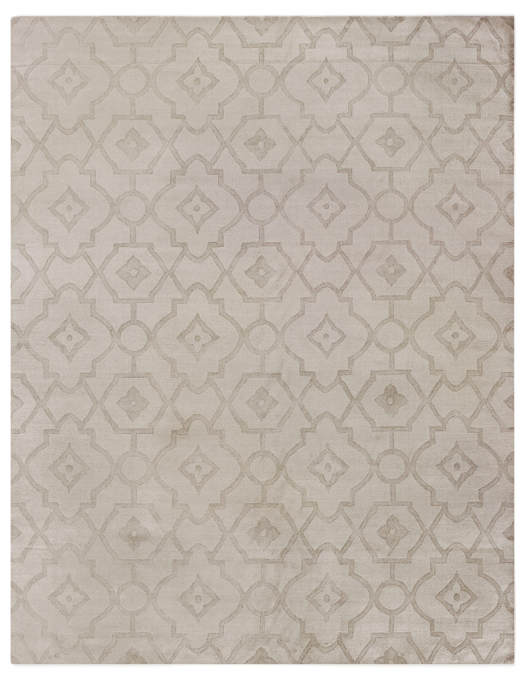 Samara Hand-Woven Light Camel Area Rug Rug Size: Rectangle 6' x 9'